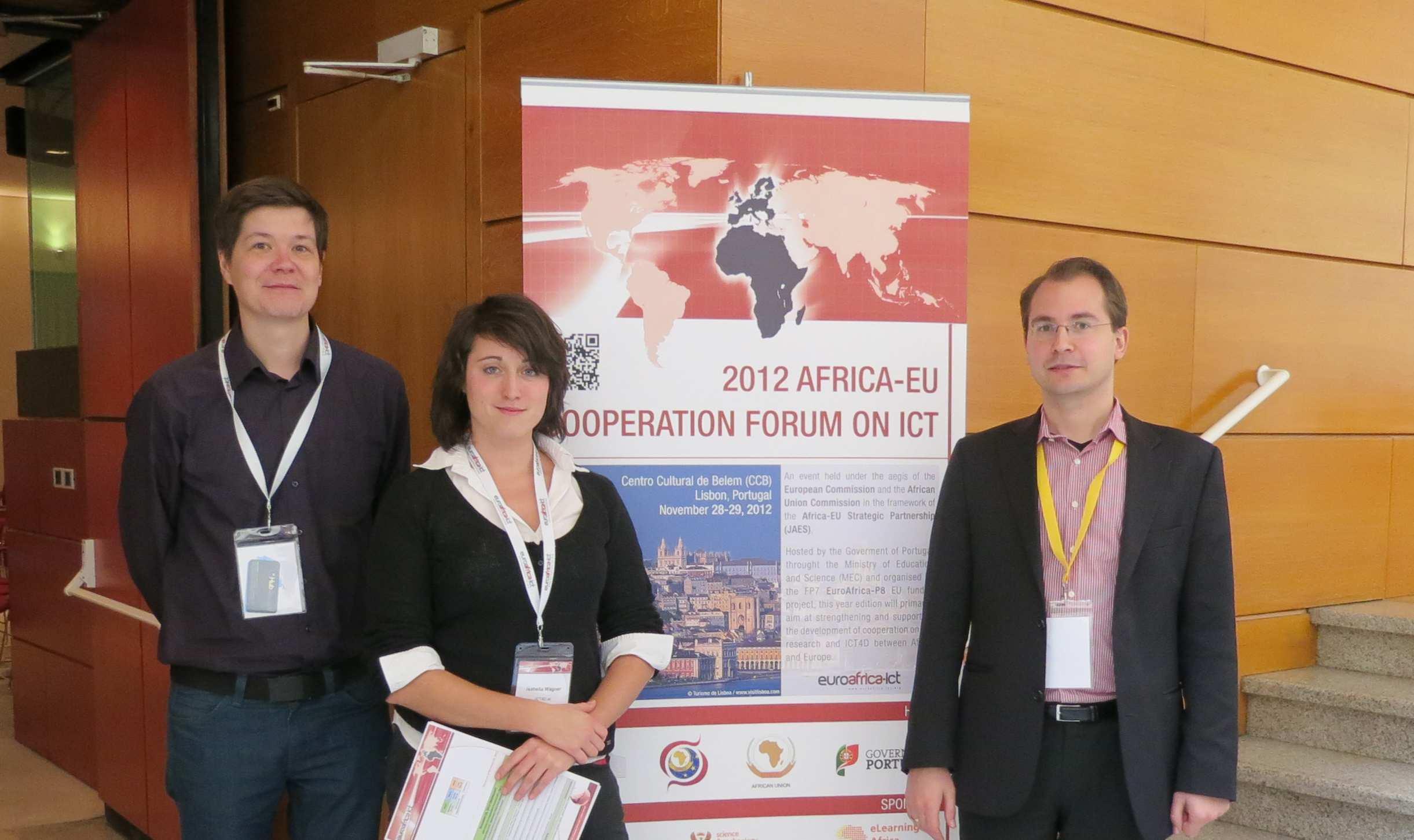ICT4D.at @ 2012 Africa-EU Cooperation Forum on ICT
